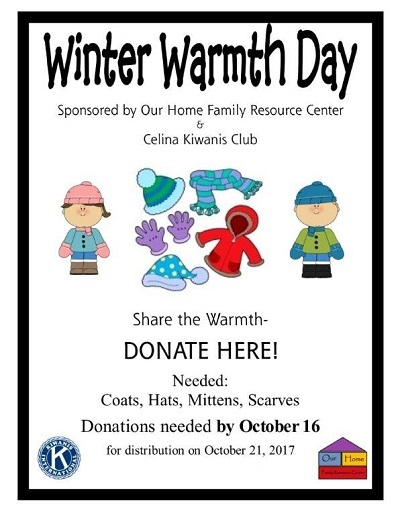 """Our Home Family Resource Center """"Winter Warmth Day"""""""