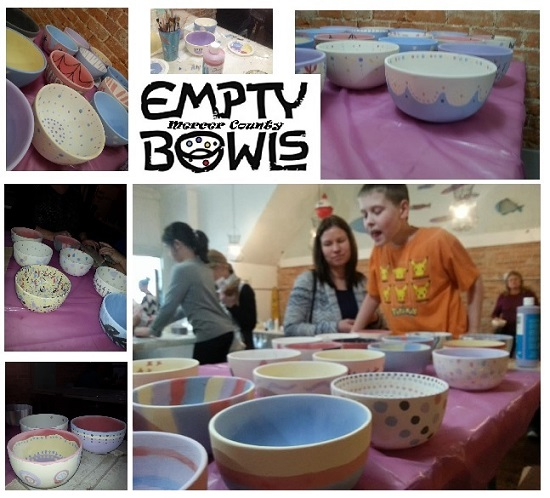 Empty Bowls Mercer County Off To A Great Start